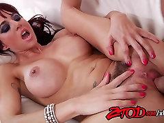 Busty redhead cougar loves a big fat cock