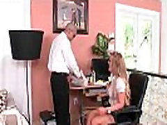 Big tit secretary gets her boobs in charge 07