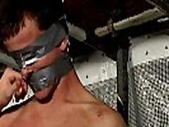 Emo gay porn vid bondage and sexy bondage man New Boy Brodie Wanked