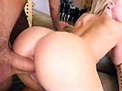 Curvy big ass busty blonde Bailey Brooke gets fucking