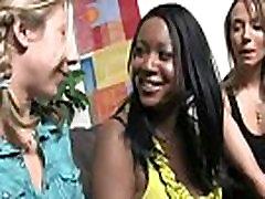 Ebony slut group fucked and facialized 1