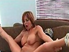 Busty mom gets bald cunt interracially fucked