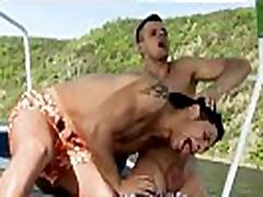 Male nude outdoors group gay sex Two Dudes Have Anal Sex On The Boat!