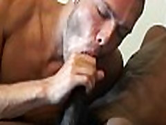 Gay loves engulfing and deep fuck