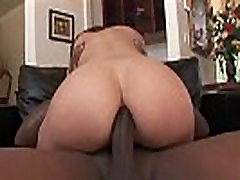 Hairy Pussy Kristina Rose Anal Fucked by Black Cock