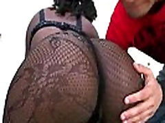 Ebony Slut With Round Brown Ass Fucked From Behind 24