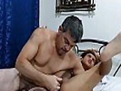 Old daddy barebacking restrained pinoy