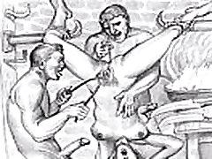 BDSM Porn Sketches