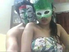 Masked Indian Couples Doing Ho Sex