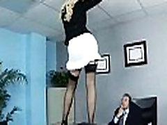 Superb Woker Girl britney amber With Big Tits Get Hard Sex In Office clip-10