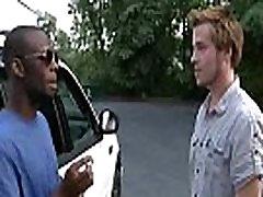 Black Muscular Gay Dude Fuck White Twink Boy - BlackOnBoys 21