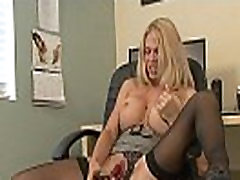 Perfect big fake milf titties are hot on a toy fucking chick - Big Tits Porn