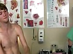 Gay doctor giving male physical exam The doctor aimed his manmeat