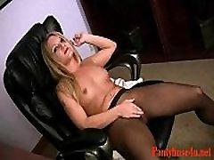 Pantyhose Free Blonde Babe Porn Video 8d-Pantyhose4u.net