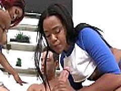 Round And Black - Ebony Fucked Hard By White Fat Dick 30