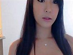 Cute Asian Girl hot strip on Webcam - for more visit pornvideocorner.com