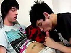 Pissing inside college gay twink boy ass Inked emo Lewis Romeo is the