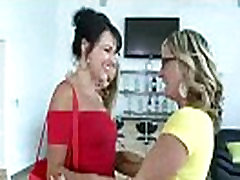 Brianna Ray &amp Kristen Cameron &amp Mindy Vix Mature Lesbians Play With Their Bodies In Front