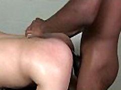 XXL black guy fucks smooth cute white boy 10