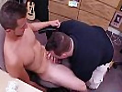 Young fit hot gay blowjob Guy finishes up with ass-fuck fuckfest