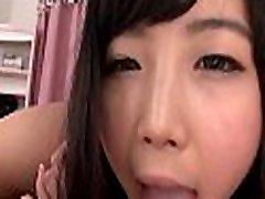 Fellow bonks asian hairy pussy