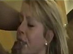 Blonde Big Boobs Wife gangbanged by two BBC on cuckold666.com