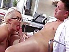 Slut Office Busty Girl Fucks Hardcore Style At Work video-25