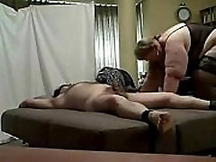 bbw femdom with her slave Extended