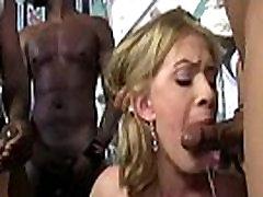 Hot big tit MILF gangbanged 03