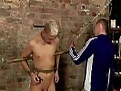 Japanese gay kissing 3gp video Restrained and incapable to refuse,