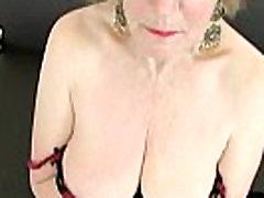 English grannies are addicted to masturbation