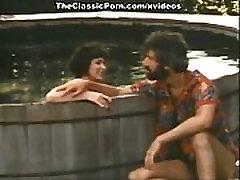 Juliet Anderson, John Leslie, Richard Pacheco in classic xxx video