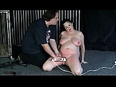 Chinas mature needle tortures and bbw amateur bdsm of breast spanked busty submi