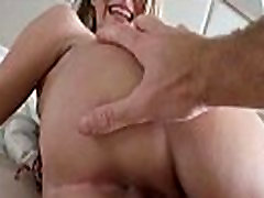 Sexy Latina with a perfect pair of tits is caught fucking