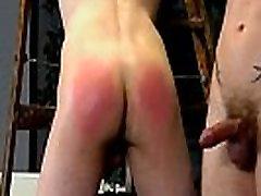 Sexy gay Dan Spanks And Feeds Reece