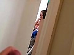 Voyeur spy cam caught young teen couple fucking hard 22