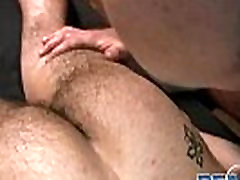 Gay bear kinky massage with Buck Reams gay porn