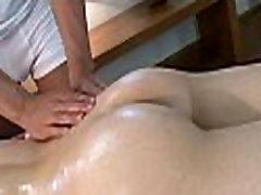Undressed gay massage