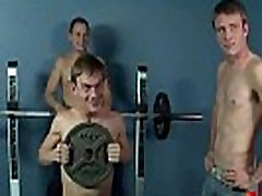 Bukkake Boys - Gay guys get covered in loads of hot cumshot 14