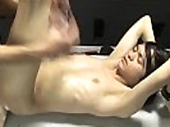 Gay orgy After getting facefucked and sucked off by Tyson, he arches