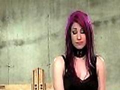 Bbw mistress spanking perfect ass of sexy female slave