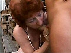 BBW Fat Mature - Granny Bangers German