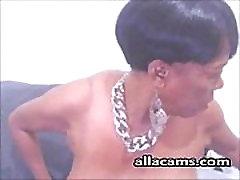 Ebony granny webcam