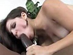 Black cock bitch sucking thick black monster