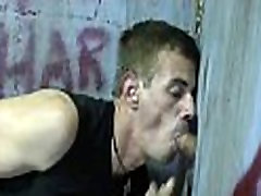 Gay hardcore gloryhole sex porn and nasty gay handjobs 28