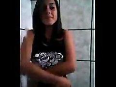 indian desi girl selfshot nude in bathroom