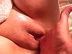 Extreme long distance Squirting from pink pussy
