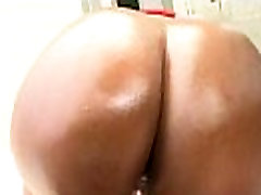 Huge Round Black Ass Gets Fucked