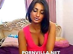 Indian model girl on webcam teasing producers