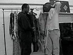 Hot Black guys Fuck at Store